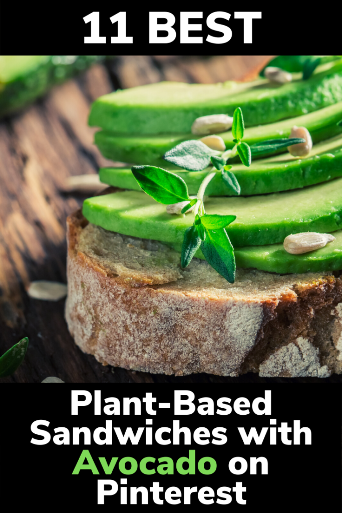 11 Best Plant-Based Sandwiches with Avocado on Pinterest