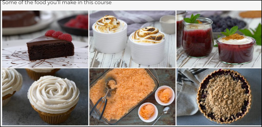 Rouxbe Vegan Desserts course